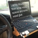 Inexpensive and Strong Laptop Mount