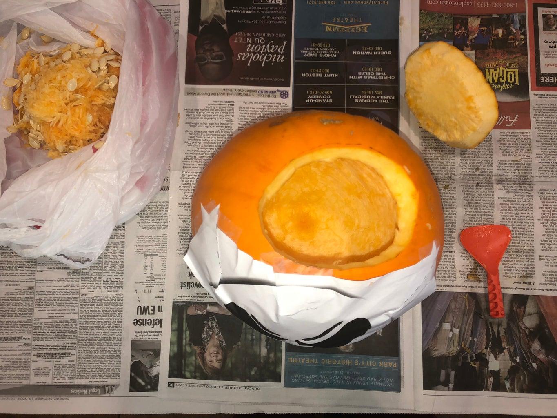 Hollowing the Pumpkin