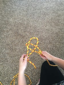 Put Loop of One Rope Into Loop of the Second Rope