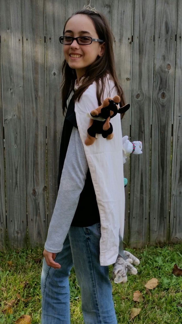 Halloween Costume: Reigning Cats & Dogs