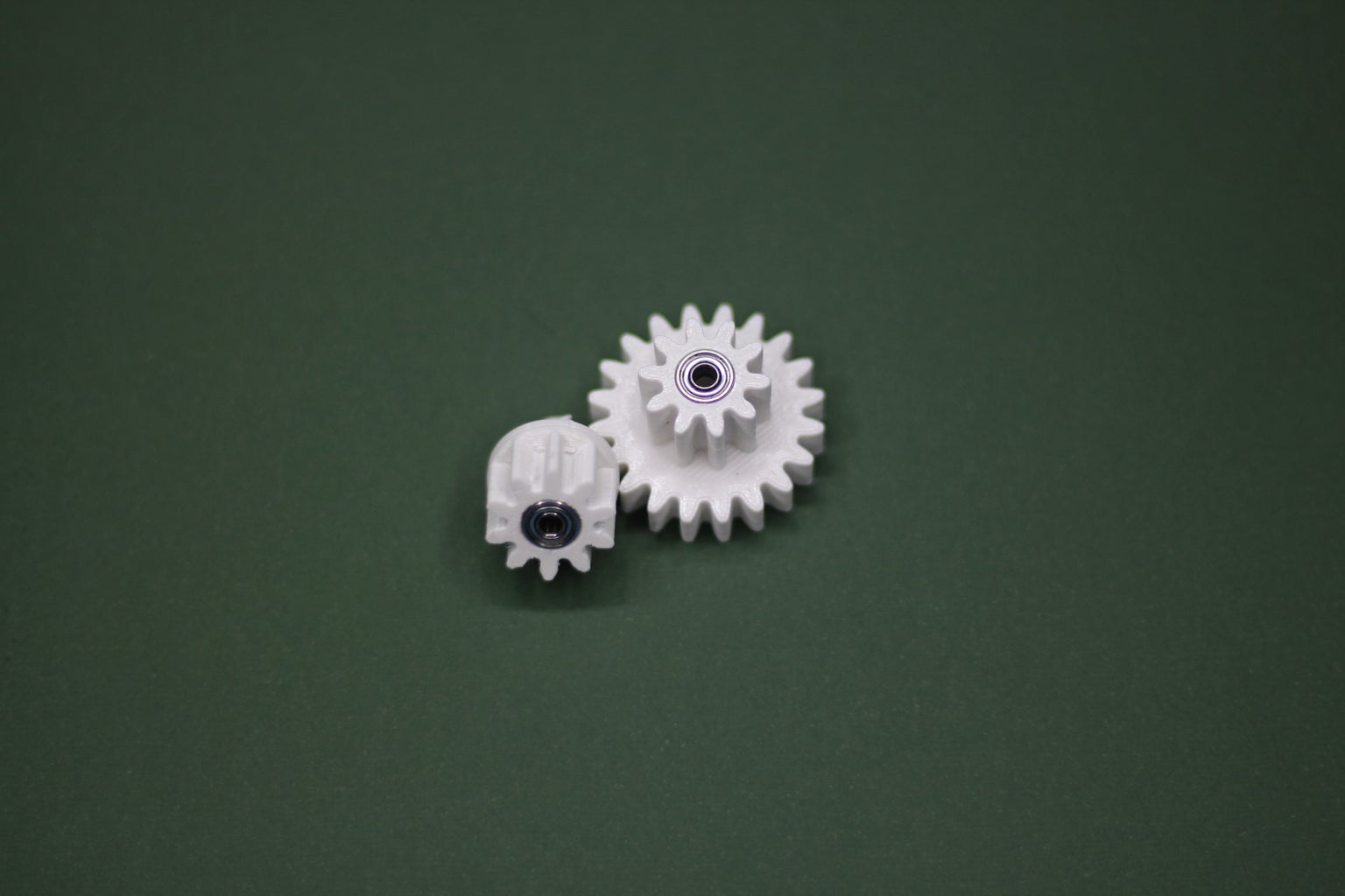 Assembling the Gears and Putting Them Together With Other Parts