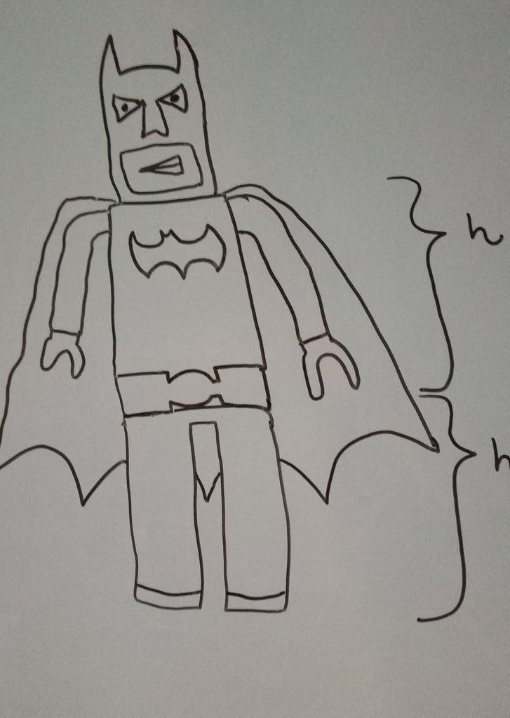 Sketch Your Lego Batman