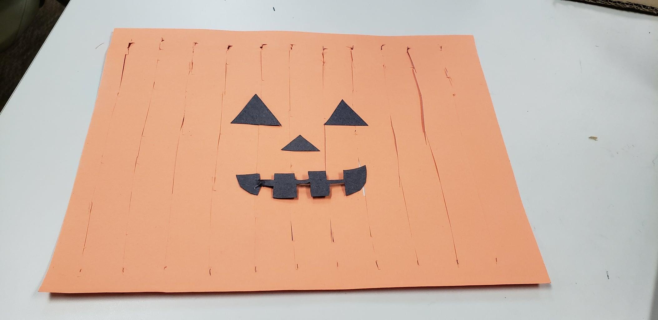 Step 5: Pumpkin Face Placement