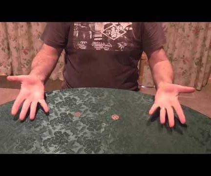 COIN THROUGH TABLE - Magic Trick