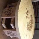 engrave Tavern table