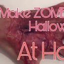 How to Make ZOMBIE HANDS for Halloween at Home