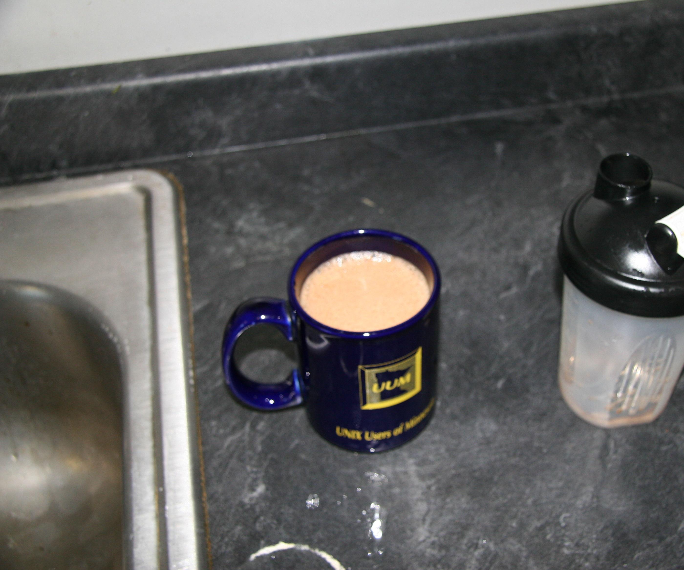 Lazy Bastard's Bulletproof Coffee