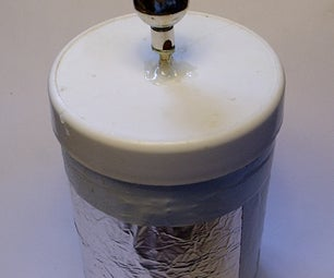 Make a Water Leyden Jar