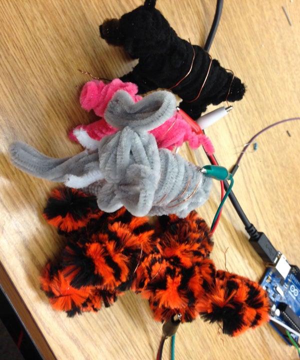 Interactive Makey Makey Animals