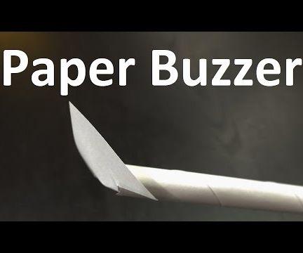 Paper Buzzer