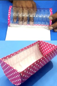 Let's Cover the Bottle With Printed Paper!