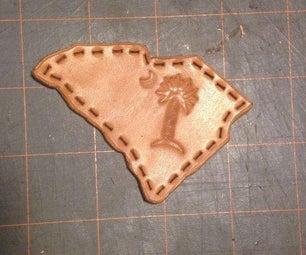 South Carolina Leather Patch