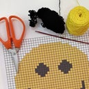 Smiley Graphgan Tapestry Crochet