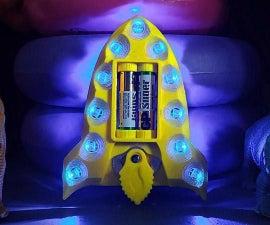 Make Your Rocket Night Light for Kids DIY