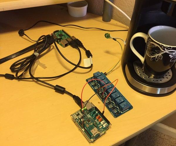 Alexa Controlled Coffee Maker