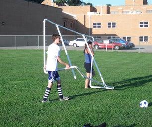 PVC Soccer Goals