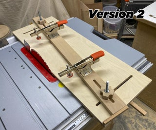 A Much Safer Table Saw Taper Jig