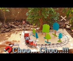 DIY Cardboard Choo ... Choo ...训练!!!