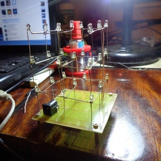 DIY | 3x3x3 LED Cube for Arduino Nano+