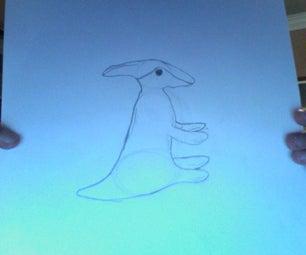 How to Sketch a Baby Parasaurolophus.