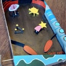 Space Pinball Machine (cardboard)