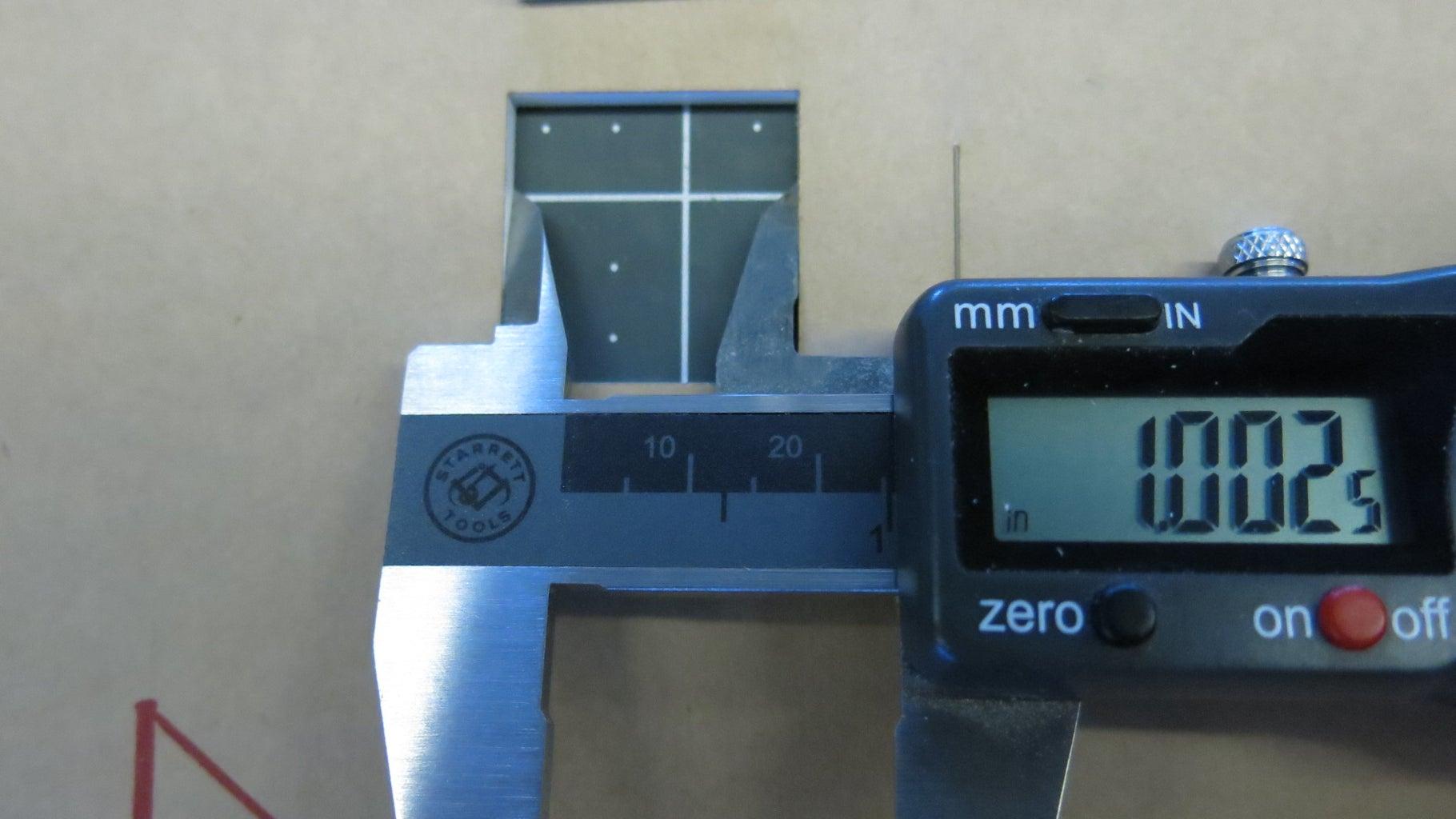 Measuring the Laser Kerf