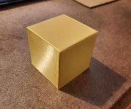 Puzzle Box Tinkercad Design