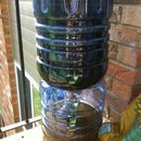 make a self-watering planter using recycled materials on the cheap