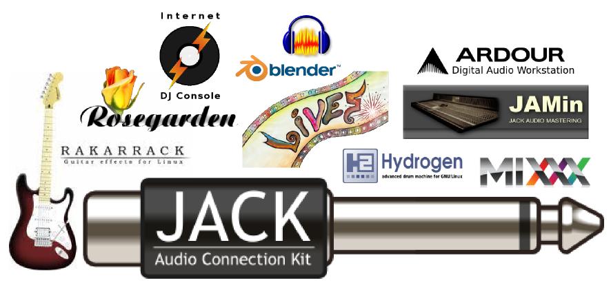 Linux Recording Studio Software Components