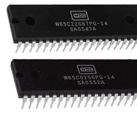 6502 & 6522 Minimal Computer (with Arduino MEGA)