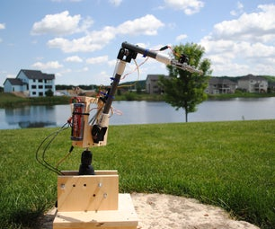 Remote Control Robot Arm