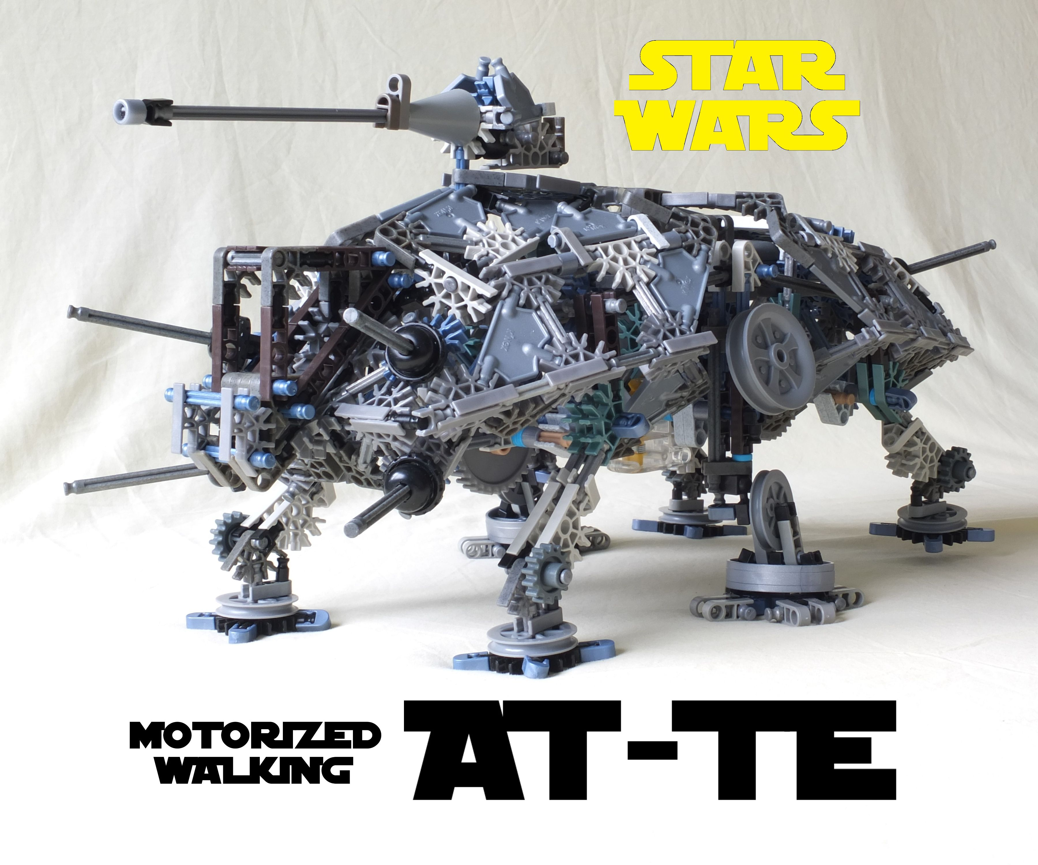 K'NEX Motorized Walking AT-TE From Star Wars