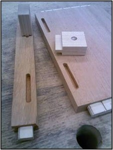 Cut the Mortises for the Cabinetmakers Buttons