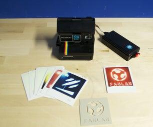 Business Card With Polaroid + Arduino