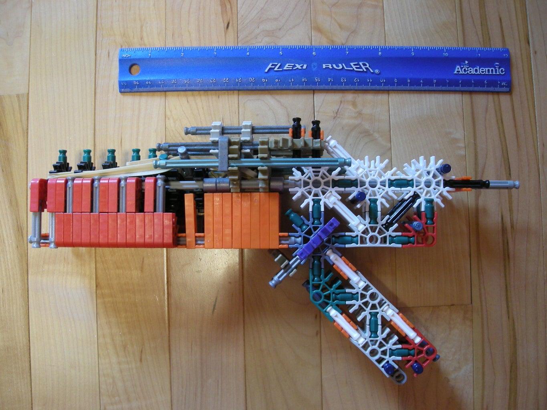 True Trigger  Knex Gun/Pistol  by Bannana Inventor