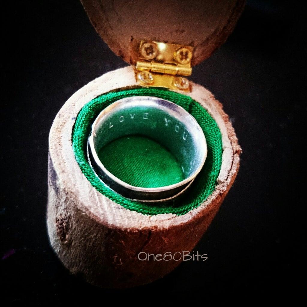 Tree Branch Ring Box