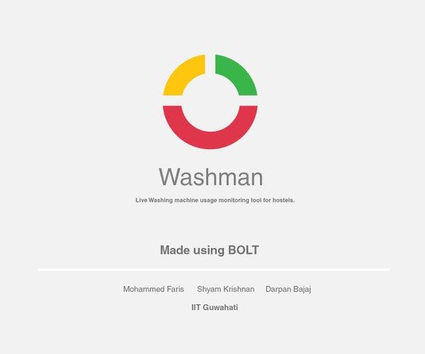 Washman- the Intelligent Washingmachine System