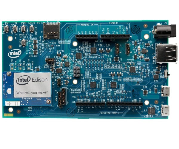 Intel Edison Takes Pictures From Motion Detection