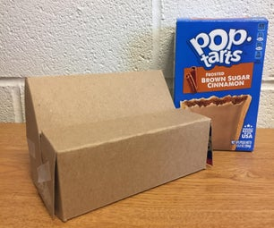 Phone Rest From Poptarts Box
