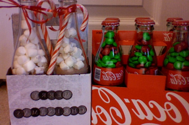 Glass bottle gifts