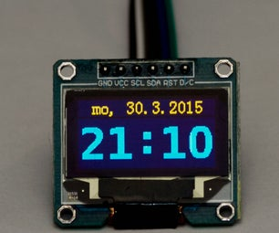 Network Time Syncronized Clock for Arduino
