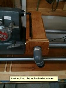 Dust Collector for Sanding Disc & Lamp Holder