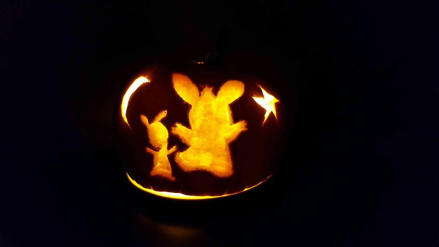 Cartoon Character Pumpkin Carve