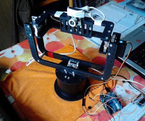 Actobotics Pan & Tilt Security Camera With Arduino