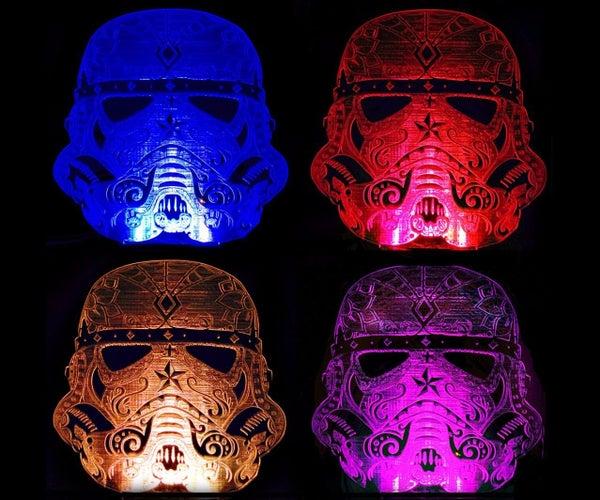 Sugar Skull Stormtrooper Nightlight