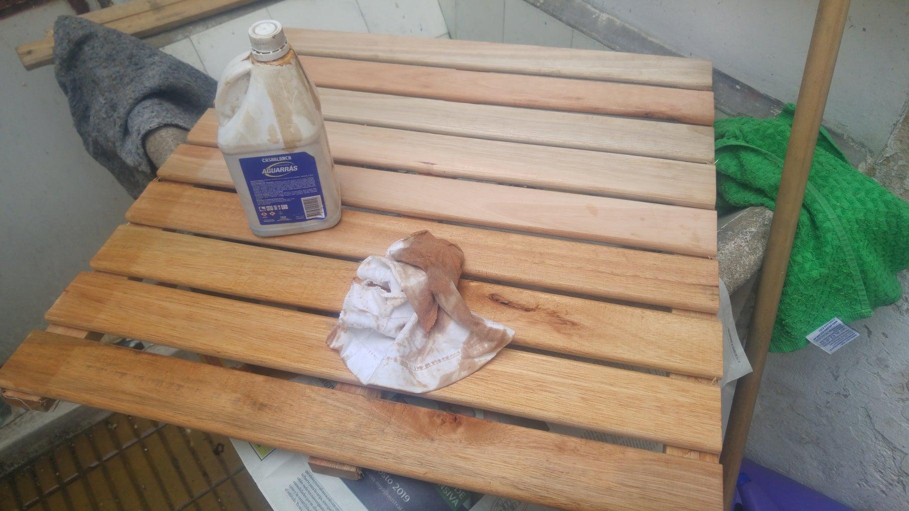 Preparando El Deck