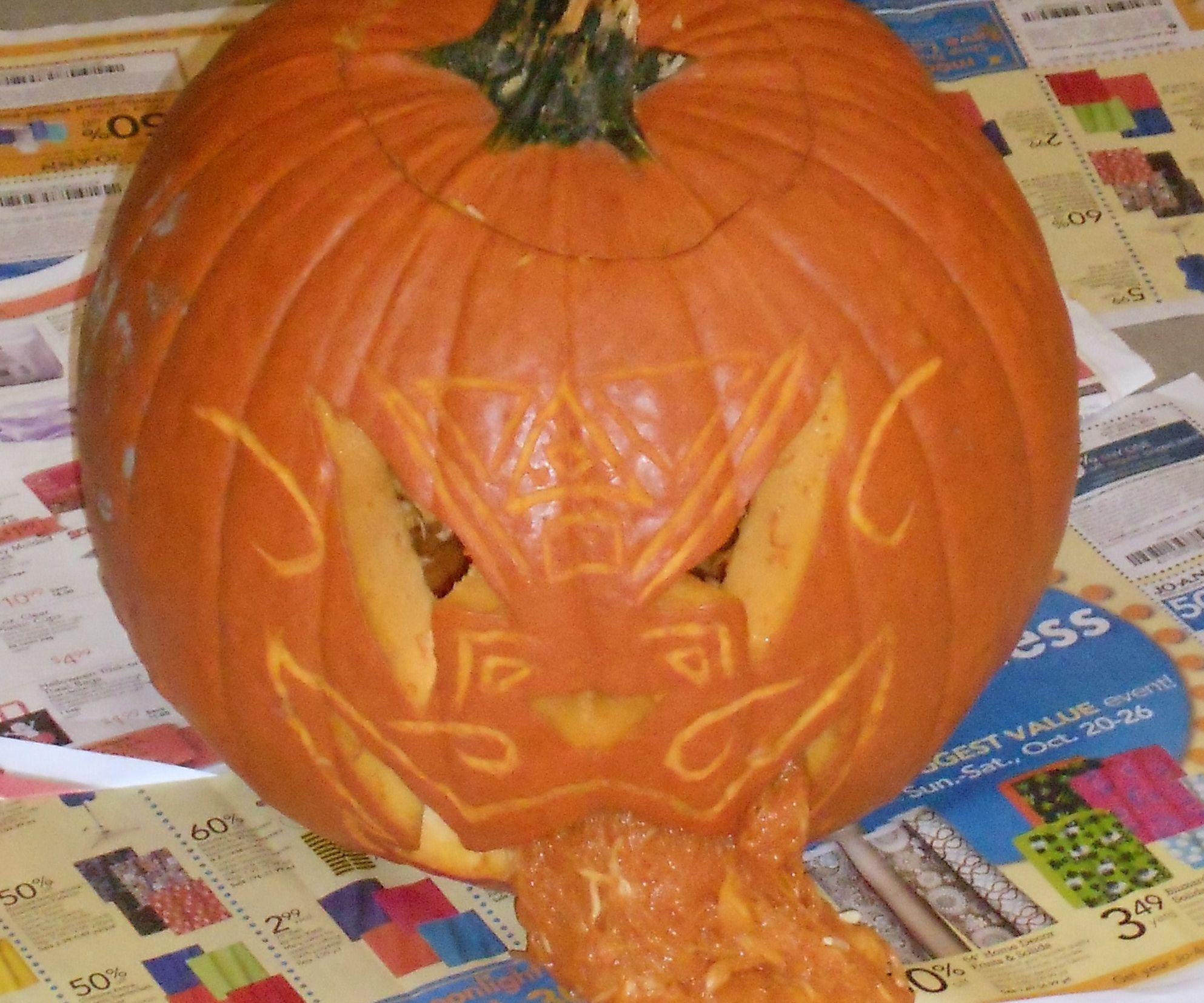 Vomitting Pumpkin