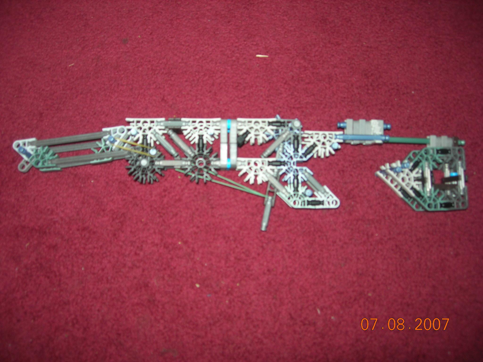 mepains rubberband gun that folds up