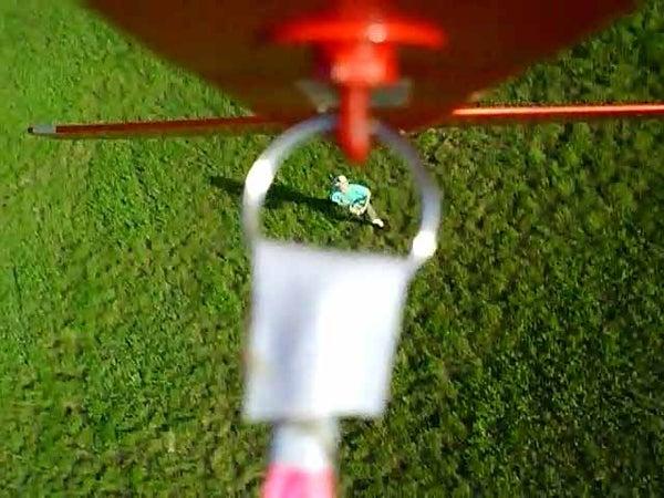 Model Glider Bungee Launcher