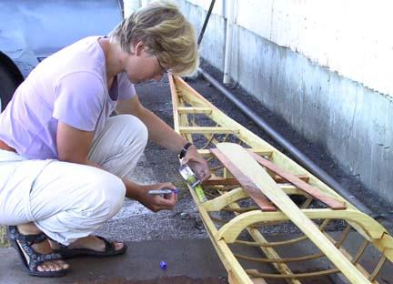 Build a Greenland kayak part 6